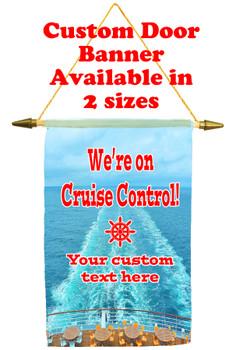 Cruise Ship Door Banner - Cruise control 4