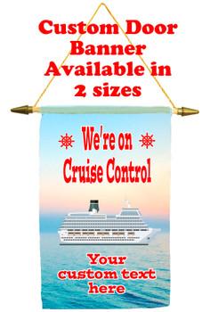 Cruise Ship Door Banner - Cruise control 1