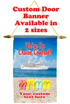 Cruise Ship Door Banner - Cruise control 2