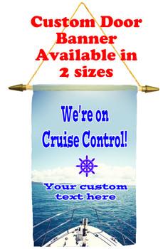 Cruise Ship Door Banner - Cruise control 3