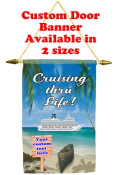 Cruise Ship Door Banner - Cruising Thru Life 3