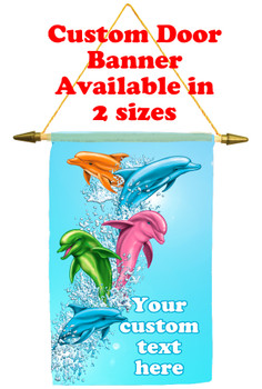 Cruise Ship Door Banner - Dolphins