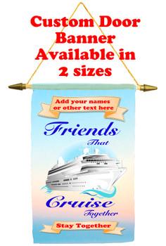 Cruise Ship Door Banner - Friends