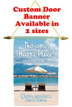 Cruise Ship Door Banner - Happy Place 1
