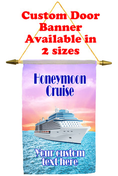 Cruise Ship Door Banner - Honeymoon 1
