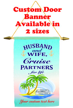 Cruise Ship Door Banner - Husband & Wife 2