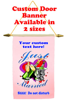 Cruise Ship Door Banner - Just Married 2