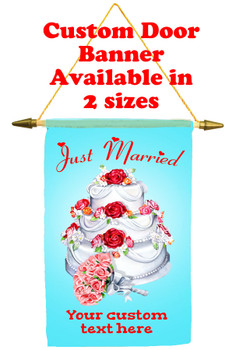Cruise Ship Door Banner - Just Married 1