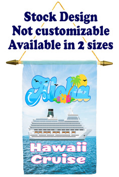 Cruise Ship Door Banner Stock Design - Aloha 3