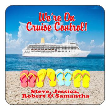 "Cruise Ship Door Magnet - 11"" x 11"" - Cruise Control 1"