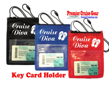 Cruise Card Holder - Stock design 053