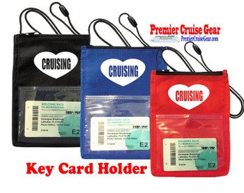 Cruise Card Holder - Stock design 055
