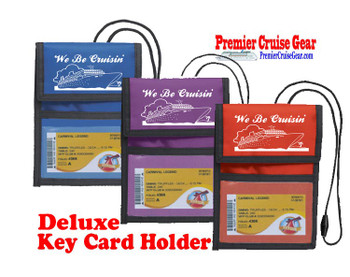 Cruise Card Holder Deluxe - Choice of color - 001