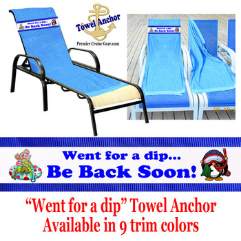 "Towel Anchor - ""Dip"""