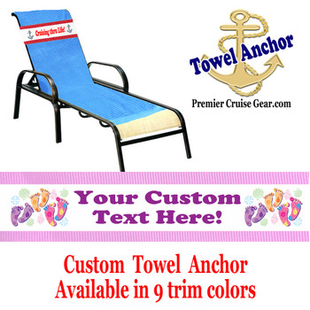 Custom Towel Anchor - (Design 004)