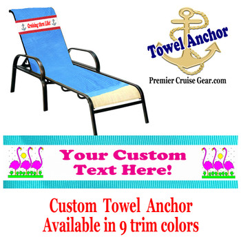 Custom Towel Anchor - (Design 005