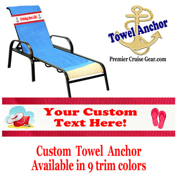 Custom Towel Anchor - (Design 006