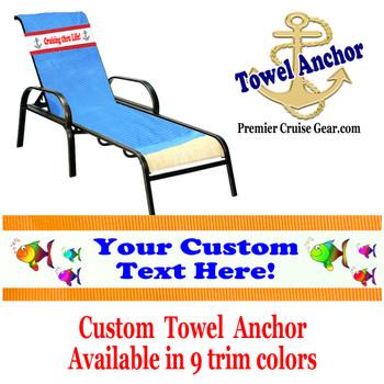 Custom Towel Anchor - (Design 007