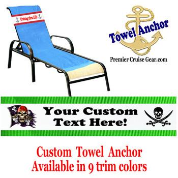 Custom Towel Anchor - (Design 008