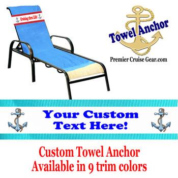 Custom Towel Anchor - (Design 010