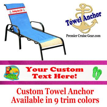 Custom Towel Anchor - (Design 011