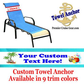 Custom Towel Anchor - (Design 012