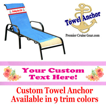 Custom Towel Anchor - (Design 016