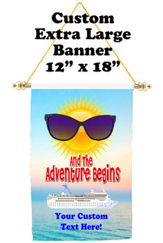 Cruise Ship Door Banner - Extra-Large Banner  (adventure 2)