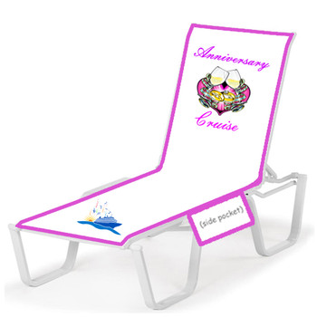 Lounge chair cover - Stock design - Anniversary 1
