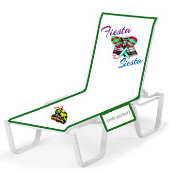 Lounge chair cover - Stock design - Fiesta