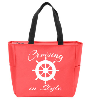 Cruising in Style  Canvas Tote Bag