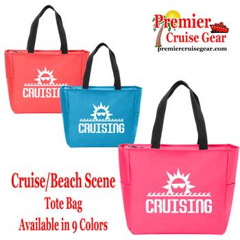 Cruising  Canvas Tote Bag