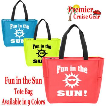 Fun in the Sun  Canvas Tote Bag