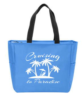 Cruising to Paradise  Canvas Tote Bag
