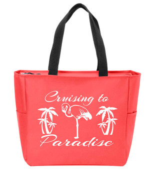 Cruising to Paradise 2  Canvas Tote Bag