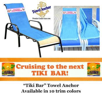 Towel Anchor -Tiki Bar