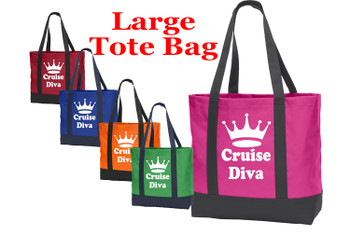 Poly Canvas Tote Bag -cruise diva