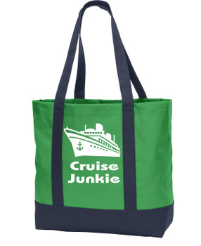 Poly Canvas Tote Bag -junkie