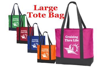 Poly Canvas Tote Bag -thru life