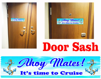 Cruise cabin door sash - 002