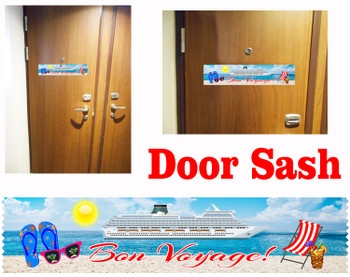 Cruise cabin door sash - 004