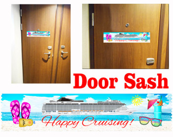 Cruise cabin door sash - sash 005