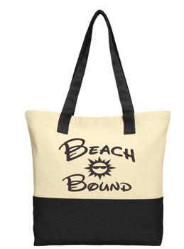 Cruise and Beach Tote Bag - Beach Bound 001