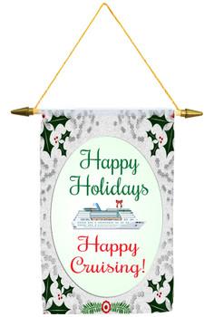 Cruise Ship Door Banner - Holiday 003