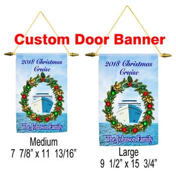 Cruise Ship Door Banner - Holiday 004