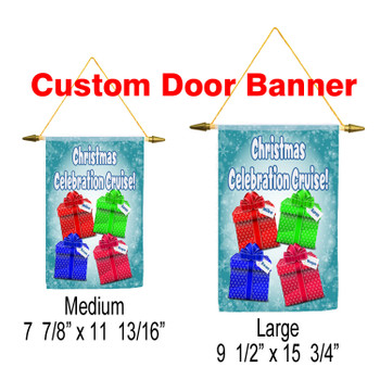 Cruise Ship Door Banner - Holiday 006
