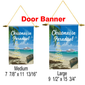 Cruise Ship Door Banner - Holiday 009