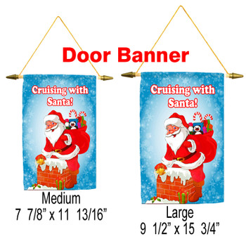 Cruise Ship Door Banner - Holiday 012