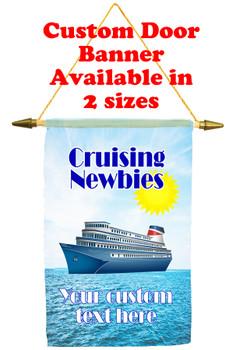 Cruise Ship Door Banner - newbies 1
