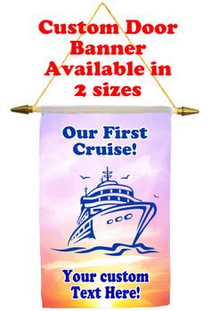 Cruise Ship Door Banner - newbies 2